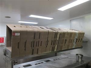 Commercial Dishwashing Trays