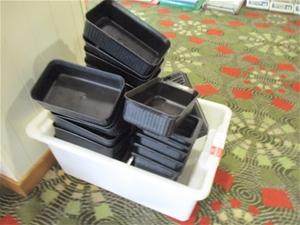 1 Tub of Grainware Assorted Plastic Sala