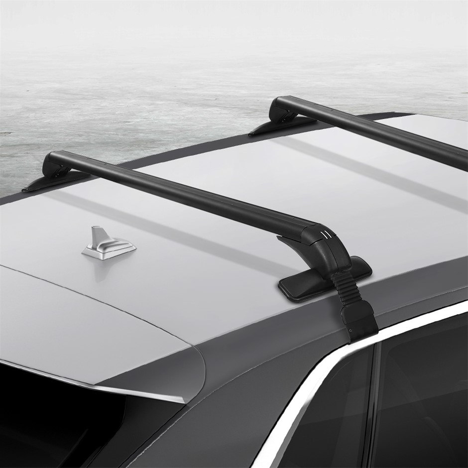 Universal Car Roof Rack Cross Bars Aluminium Adjustable Lockable Carrier