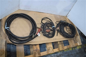 Lot of 3 Tig Welding Torches with Hoses