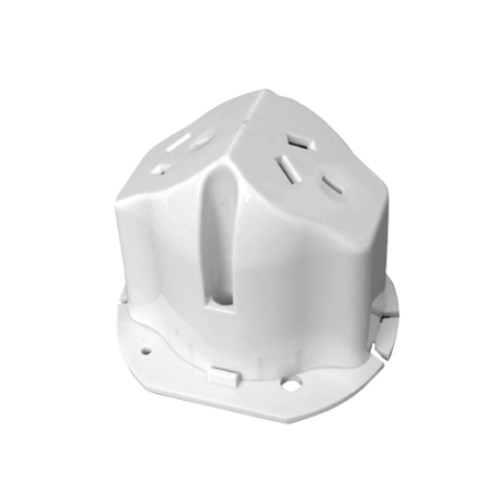Qty 10 x Vynco Double Surface Socket with Clip-On Base and Loop Terminal