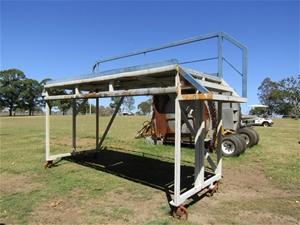 Jet/RAAF Matenance Platform (Light Blue/