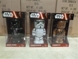 Assorted Star Wars Wind-Up Figurines
