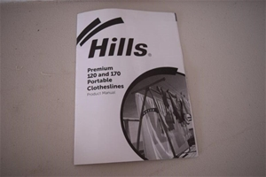 "Unused ""Hills"" Premium Portable Clothesl"