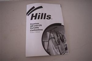 """Unused """"Hills"""" Premium Portable Clothesl"""