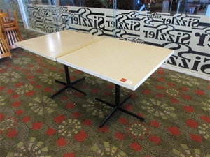 2 x Square Dining Tables