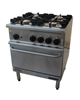 Goldstein Gr/G710Gas 4 Burner Stove With Oven