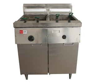 Frymaster Double Pan Gas Deep Fryer