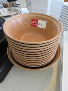 13 x Plastic Bowls