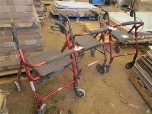 3x Wheely - Walkers, Various