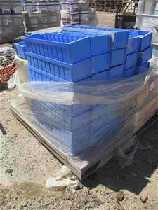 Large Qty Small Parts Storage Bins Plast
