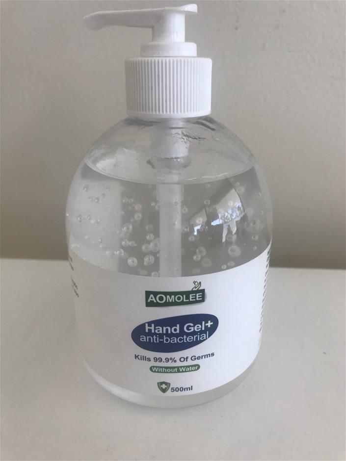 Box of 24 x Aomolee 500ml Anti-Bacterial Hand Sanitisers 75% Ethanol