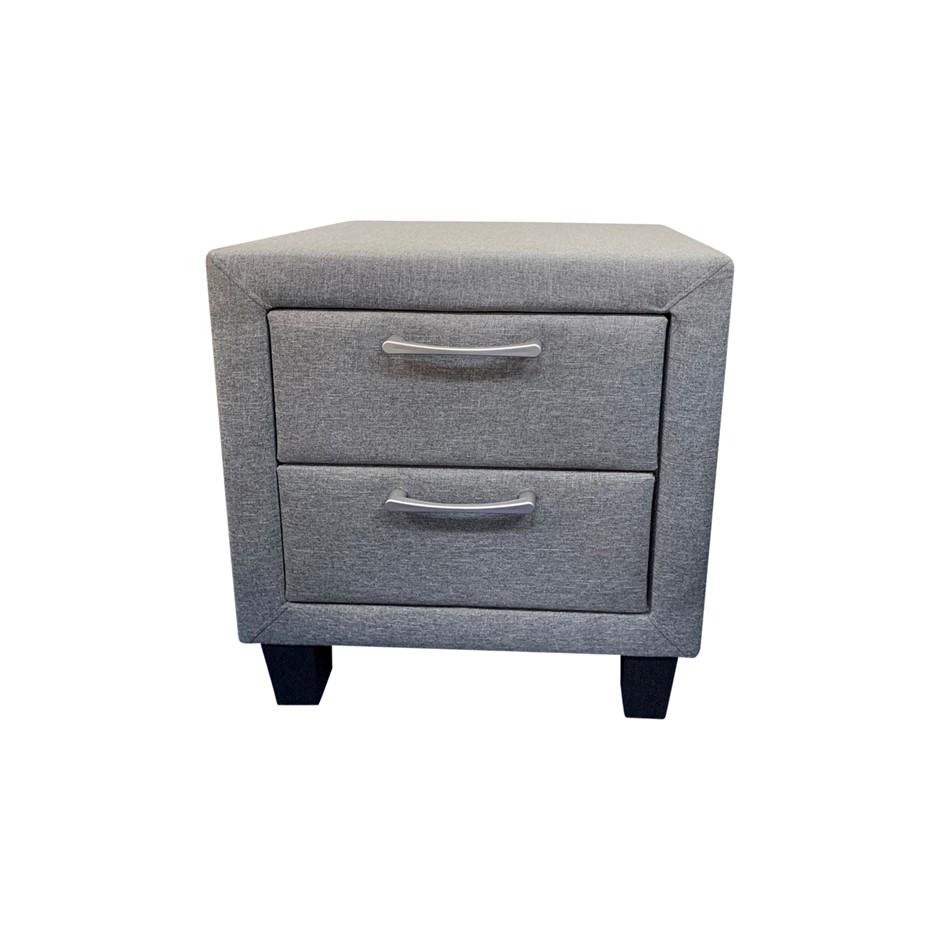 Megan bedside table is a modern style with attractive Light Grey colour