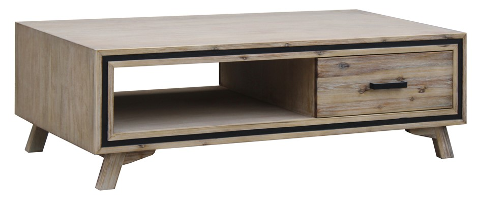 Pastoral look for a Warm, Rich Touch Acacia Seashore coffee table