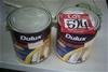 2 units of 2 litre Dulux Aquanamel Paint. As Is