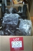 Box of assorted Casters and Bed feet, ensemble casters. Approximately