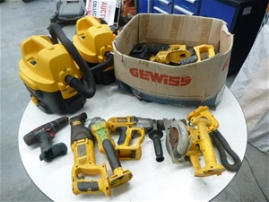 DeWalt, Bosch, Battery Operated Power To