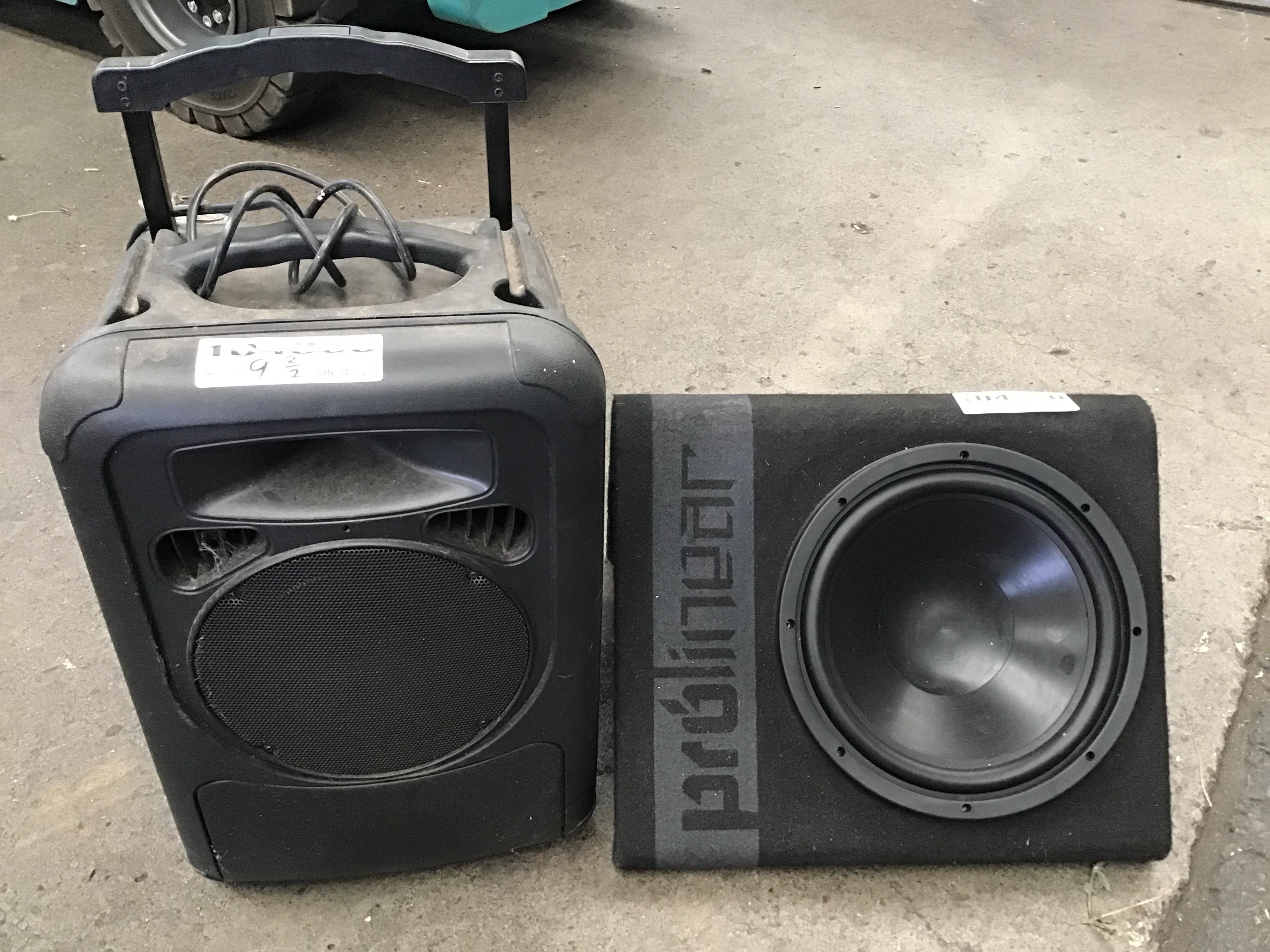 2 x Audio Equipment