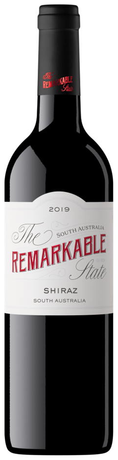 Remarkable State White Label Shiraz 2019 (6 x 750mL) SA
