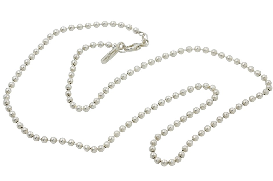 Thomas Sabo Sterling Silver Ball Chain Necklet.