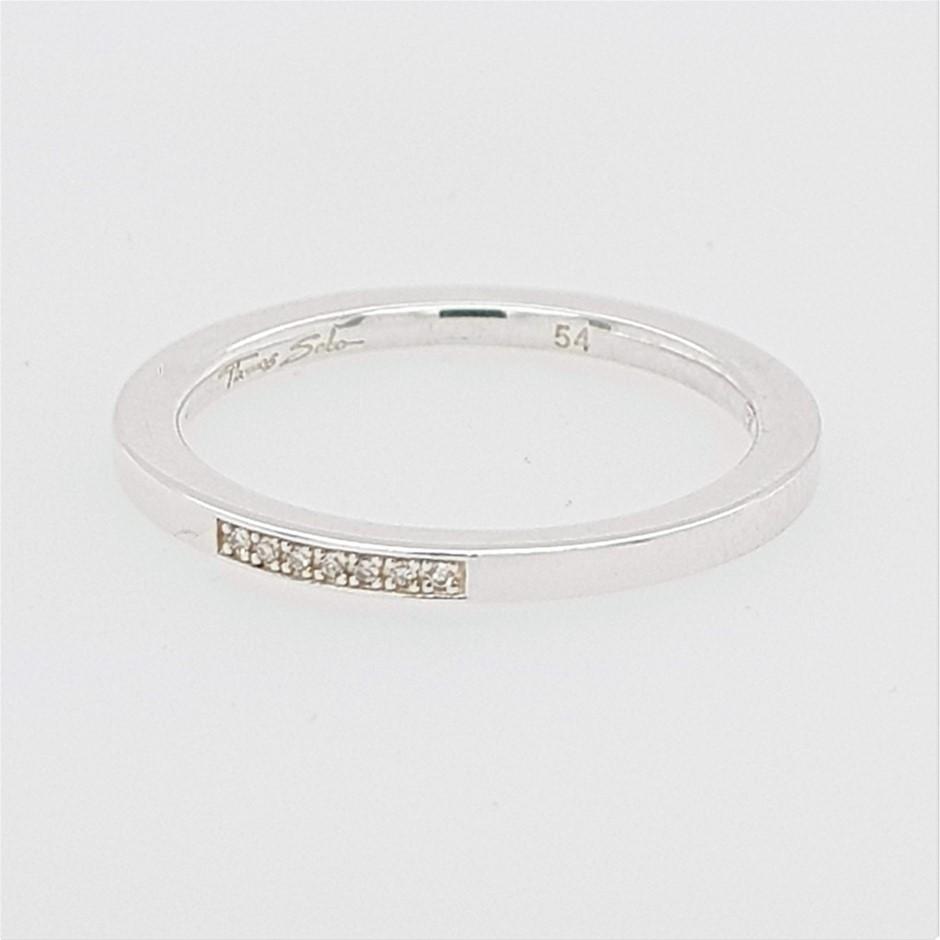 Thomas Sabo Diamond Band Ring.