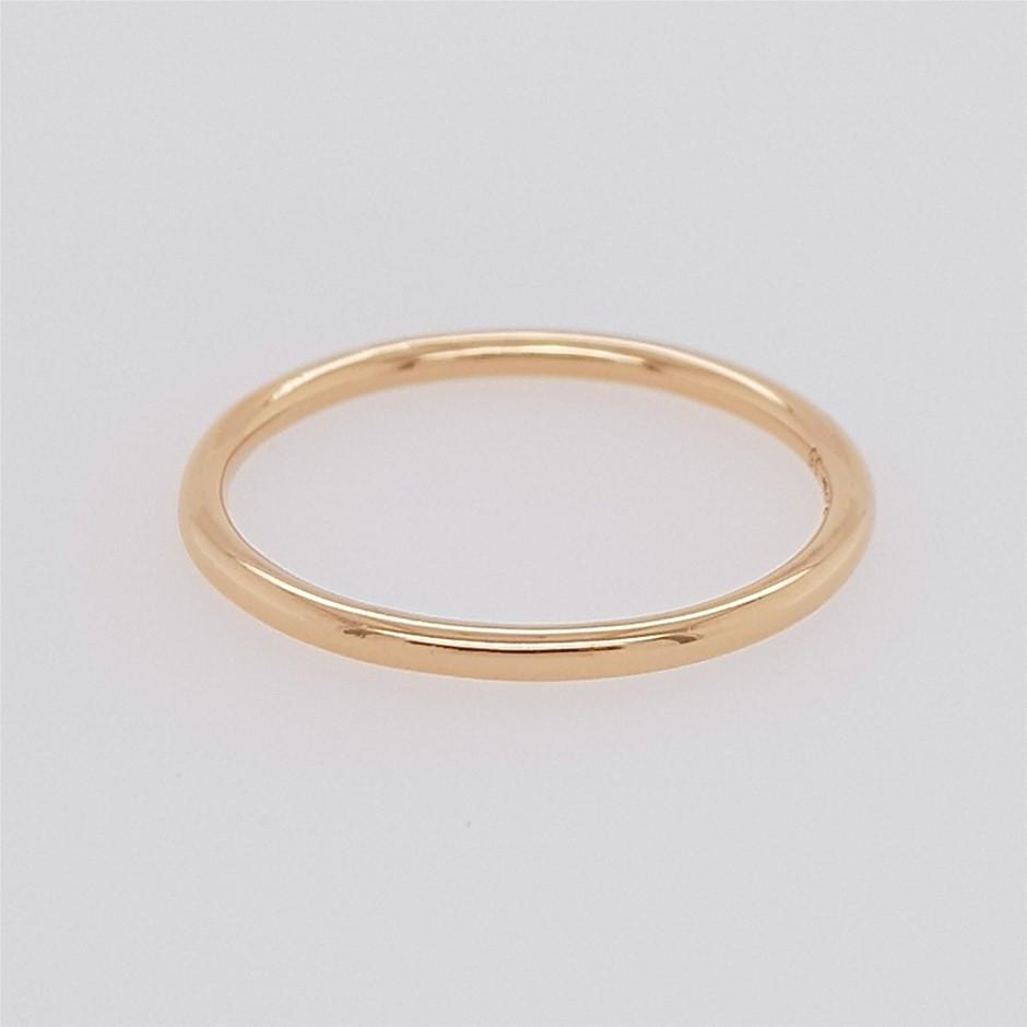 Thomas Sabo Rose Gold Plated Slim Band Ring.