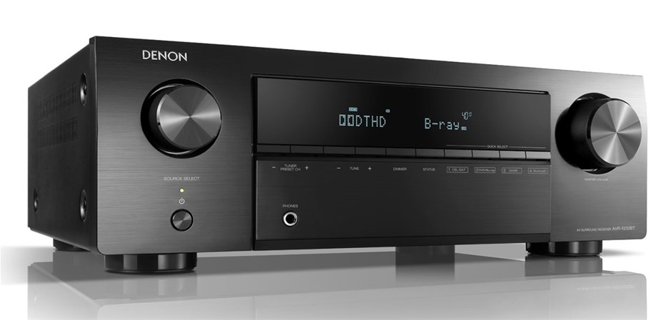Denon AVR-X250BT 5.1CH AV Surround Receiver witrh Bluetooth