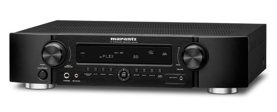 Marantz NR1402 Slim Line 3D HD AV Receiver (Black)