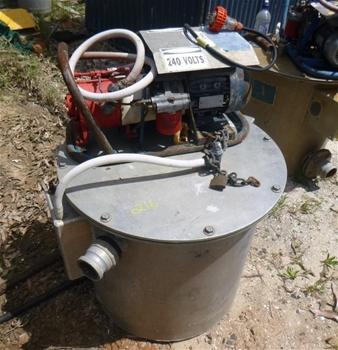 34x Dewatering Drum and Vac Pumps