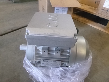 9x Unused Electric Motors