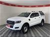 2017 Ford Ranger XL 4X2 Hi-Rider PX II Turbo Diesel Automatic Dual Cab