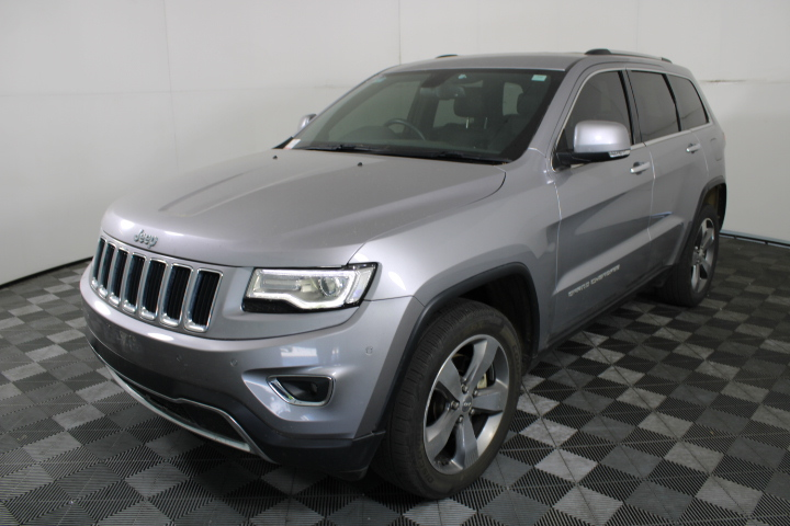 2014 Jeep Grand Cherokee Limited WK Turbo Diesel Automatic - 8 Speed Wagon