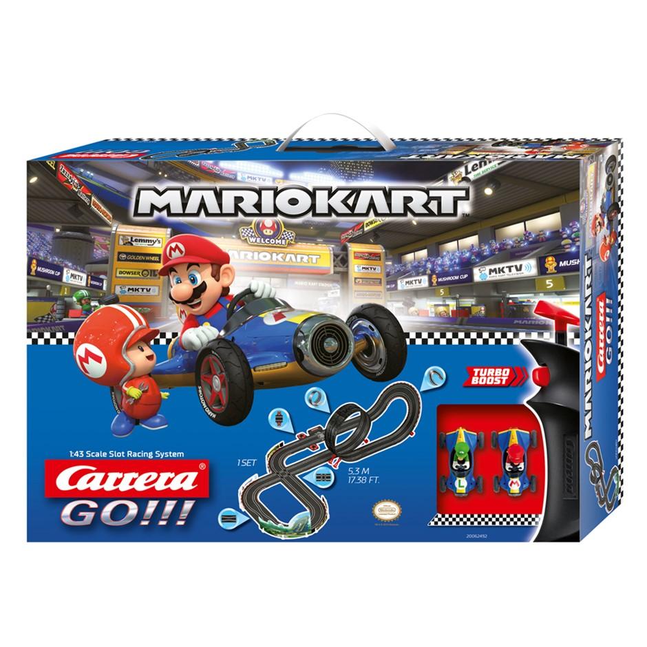 Carrera Go 1:43 Slot Racing System Nintendo Mario Kart Mach 8