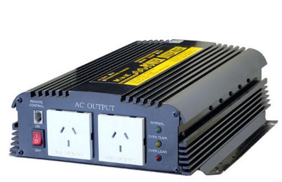 Doss PIN1200 - 1200W 12V DC - 240V AC Power Inverter