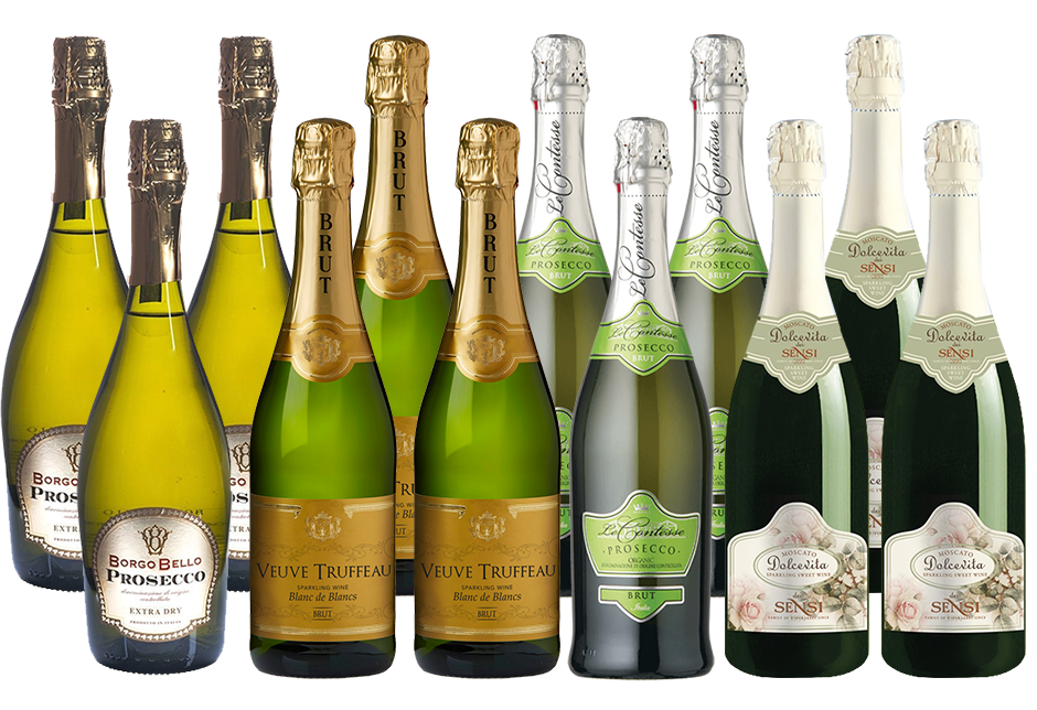 Mixed Imported Bubbles Pack (12x 750mL)