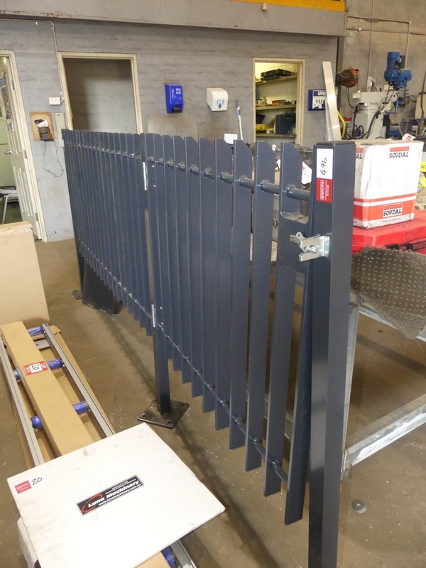 Metal Fence Partition