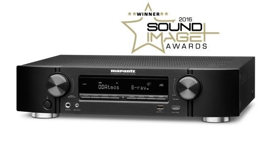 Marantz NR1606 Slim 7.2 Channel AV Receiver