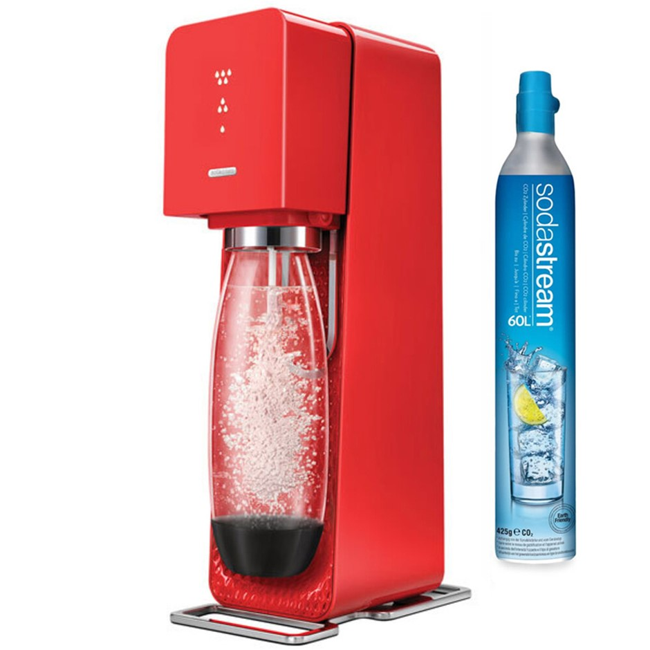 SodaStream Source Element Sparkling Water Maker - Red