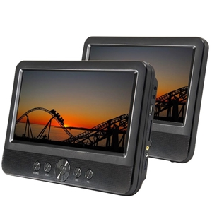 Lenoxx 10inch Twin Screen Travel/Car/Por