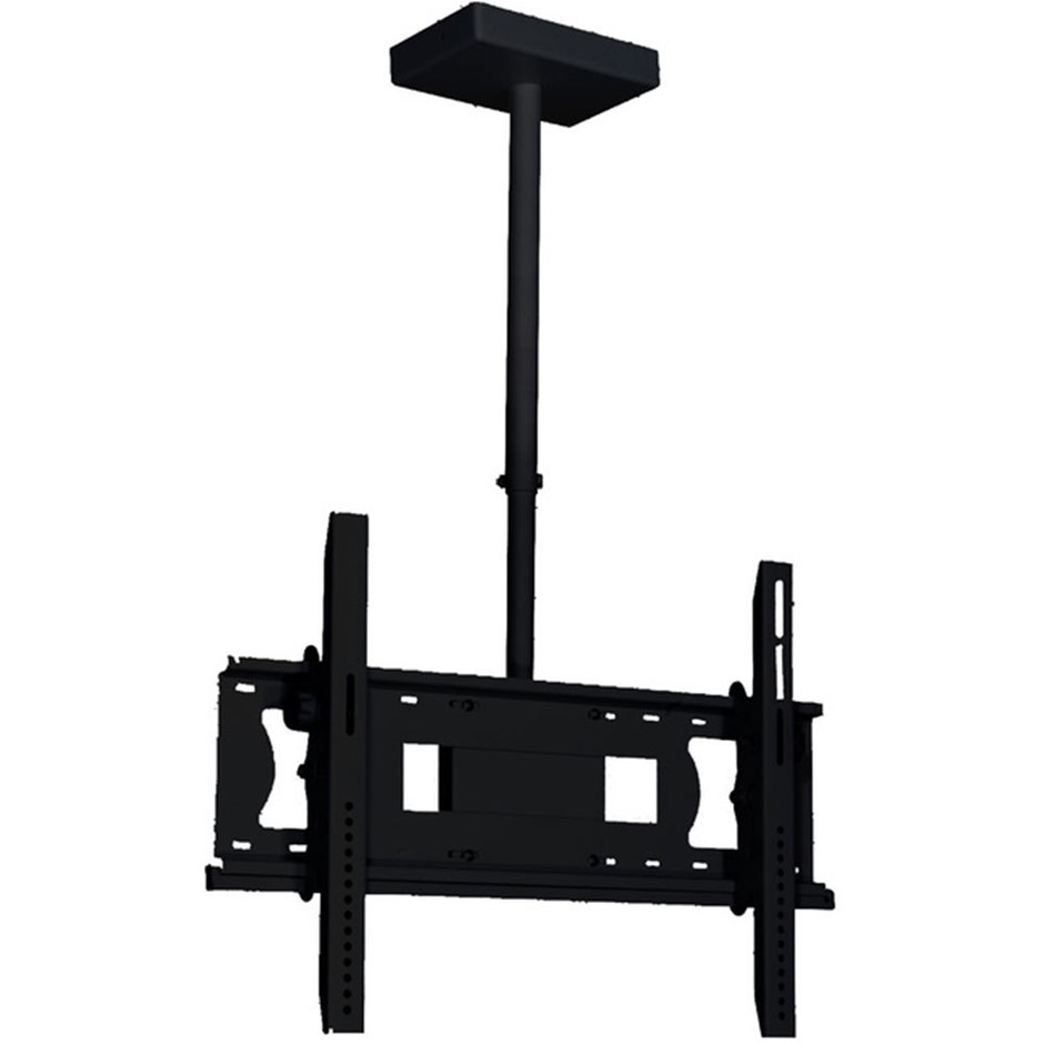 Doss LCDCM2B Universal Ceiling TV Bracket w/ 360 Swivel