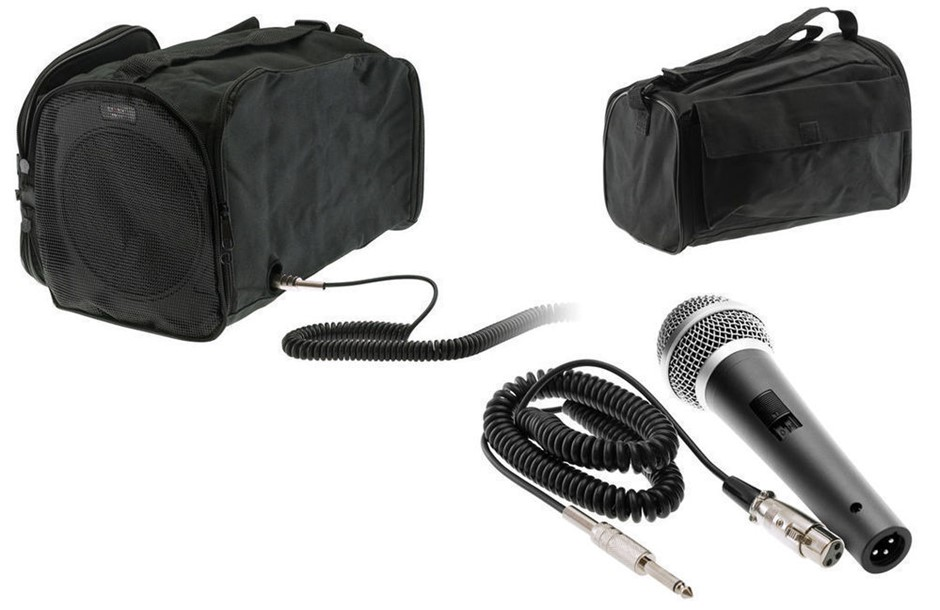 Doss Portable Rechargeable Sound System with Mic