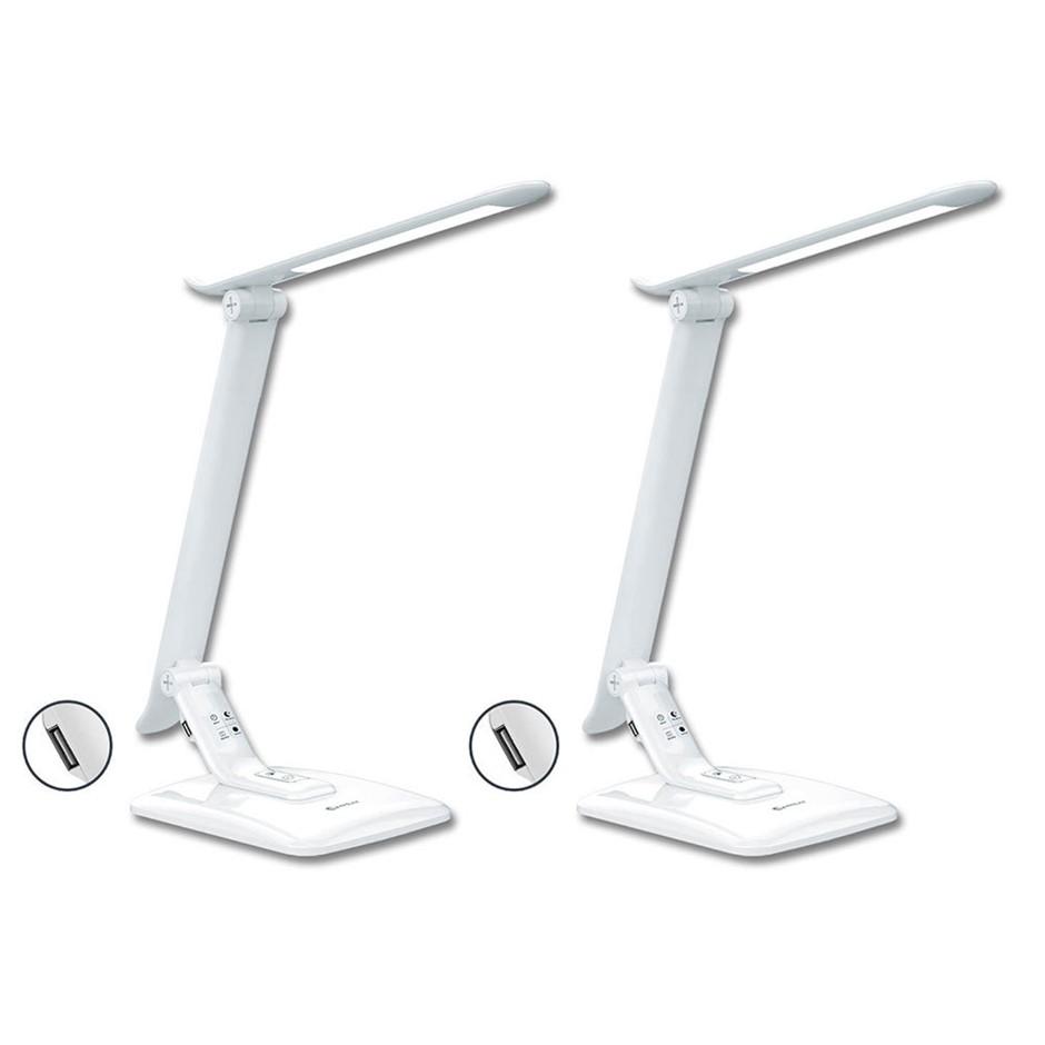 2x Sansai Smart Rotatable LED Desk Lamp