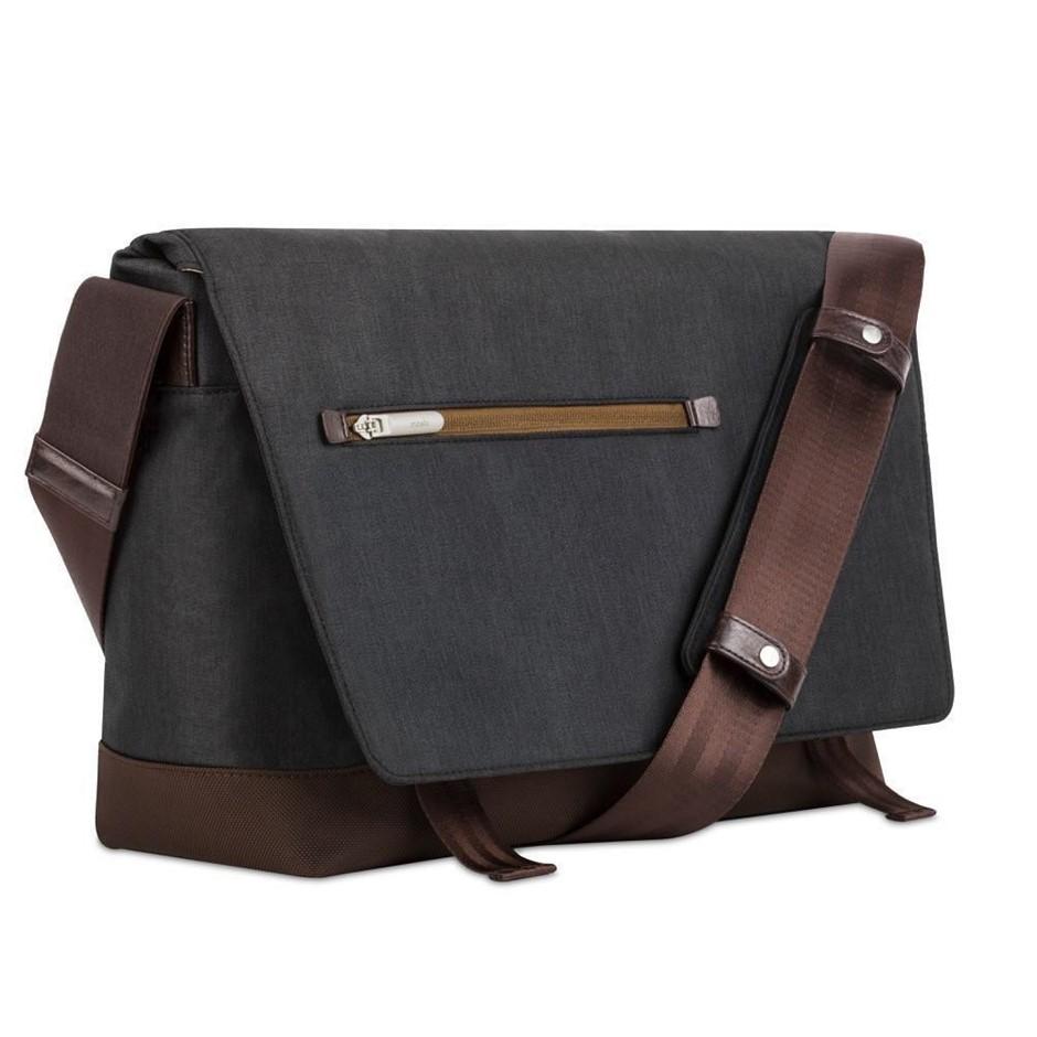 """Moshi Aerio Messenger Bag 15"""" - Charcoal Black"""