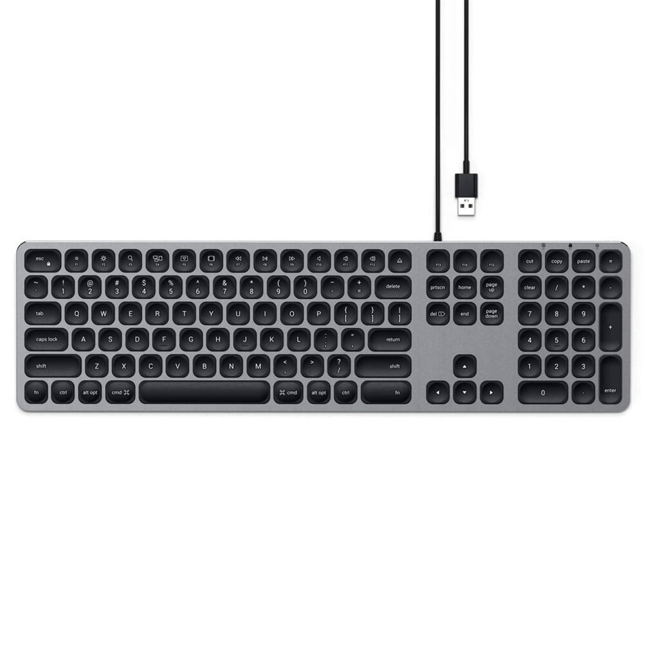 Satechi Wired Keyboard - Space Grey