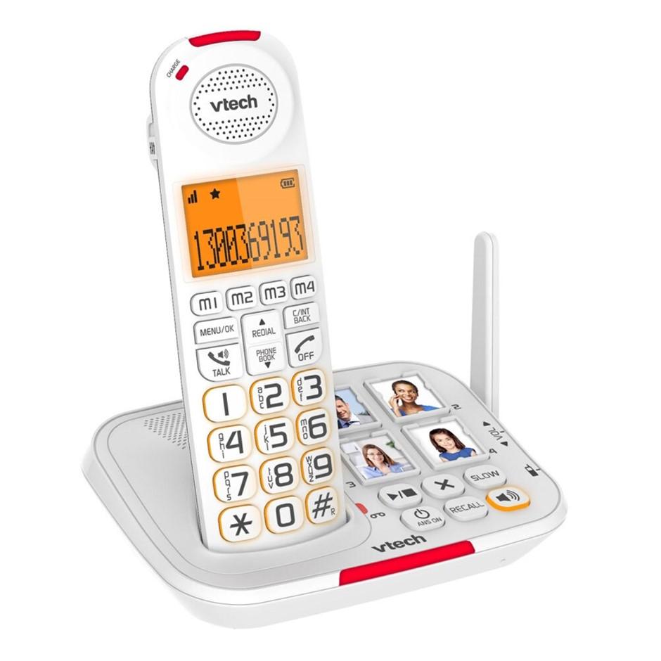 VTech CareLine DECT6.0 Cordless Phone w/ VSMART