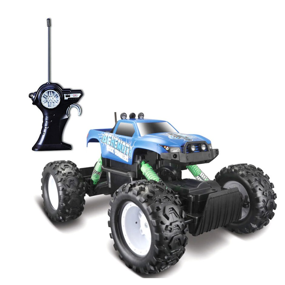 Maisto Tech 4x4 Rock Crawler w/ Cell Battery/RC Assorted Colours 8y+