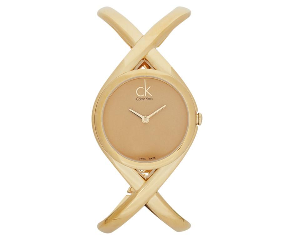 Calvin Klein Women's 30mm Enlace Watch - Gold