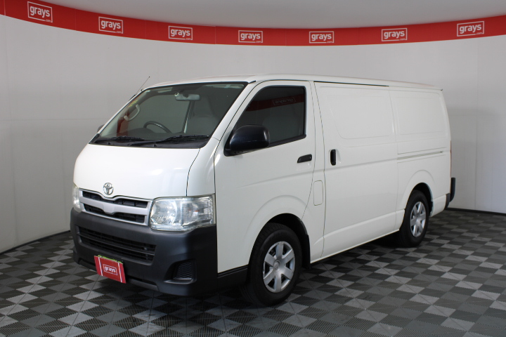 2011 Toyota Hiace LWB TRH201R Manual Van