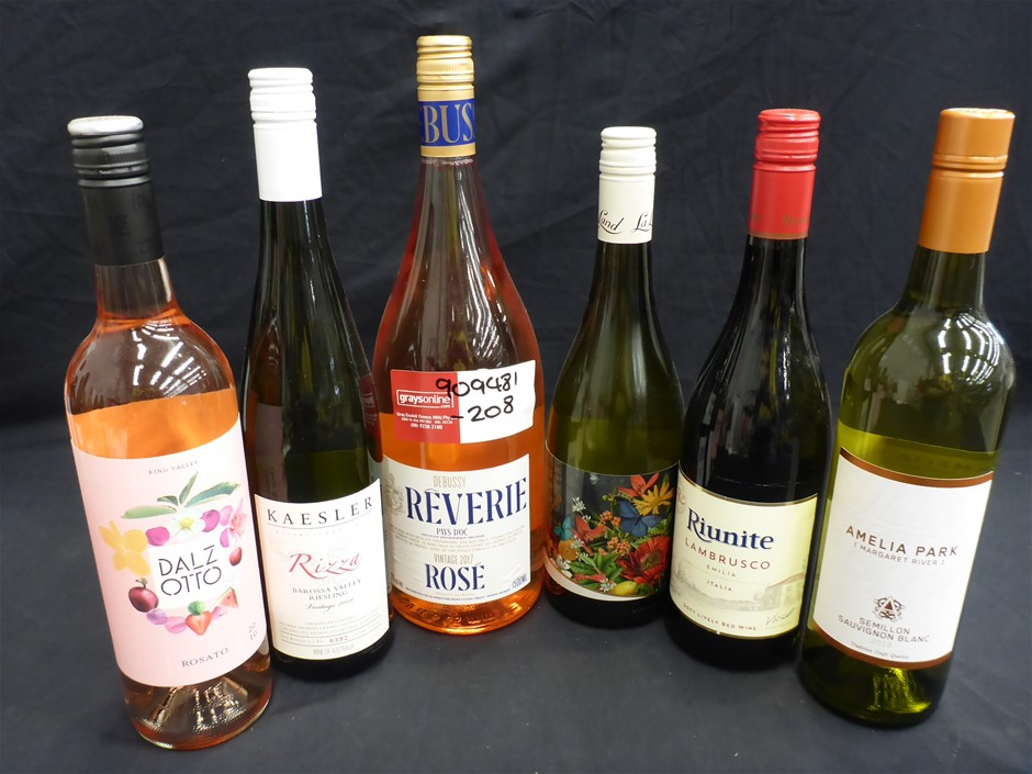 6 x Assorted Wines