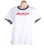 DICKIES Women`s Classic Fit Tee, Size 12, Cotton, White. Buyers Note - Disc